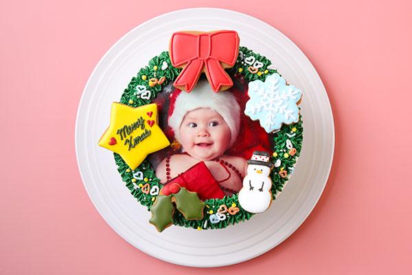 飾り付け自由クリスマスケーキ